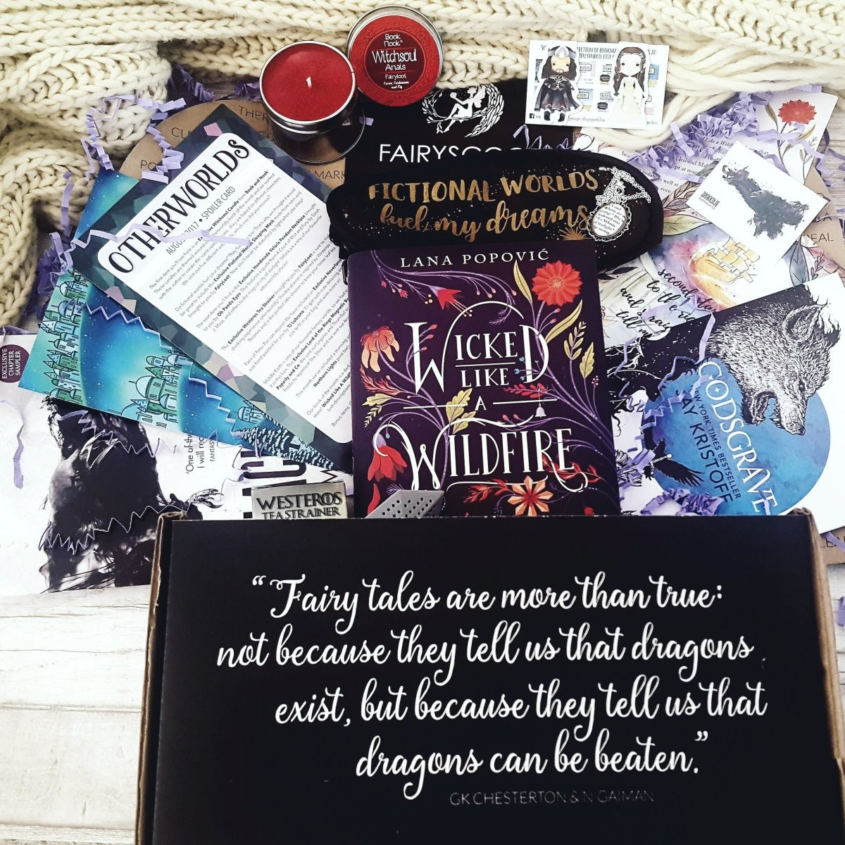 Fairyloot Unboxing – Otherworlds August Box