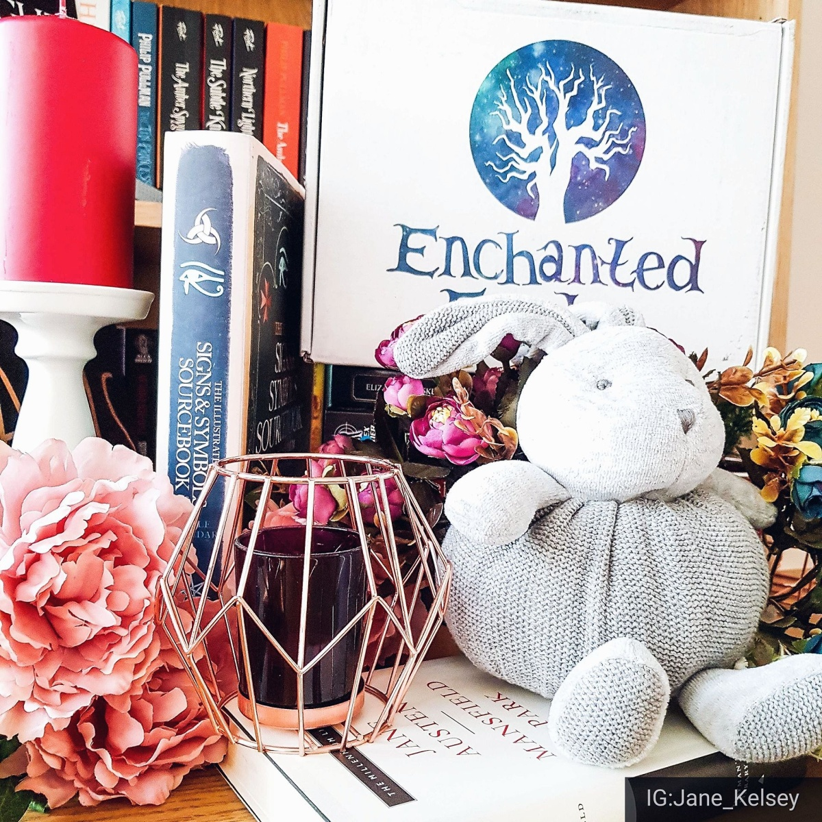Seasons Geekings ~ Enchanted Fandoms December Bookish Box