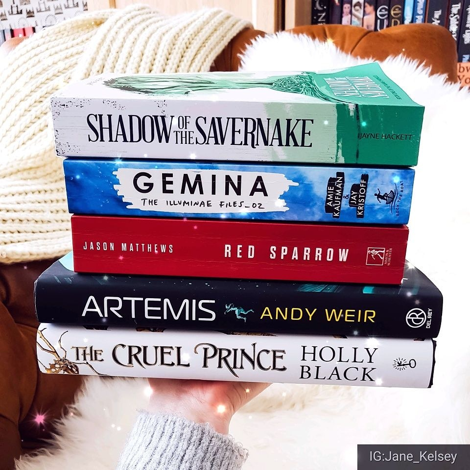 March #Wrap-up: The Cruel Prince, Gemina, Artemis, and more…