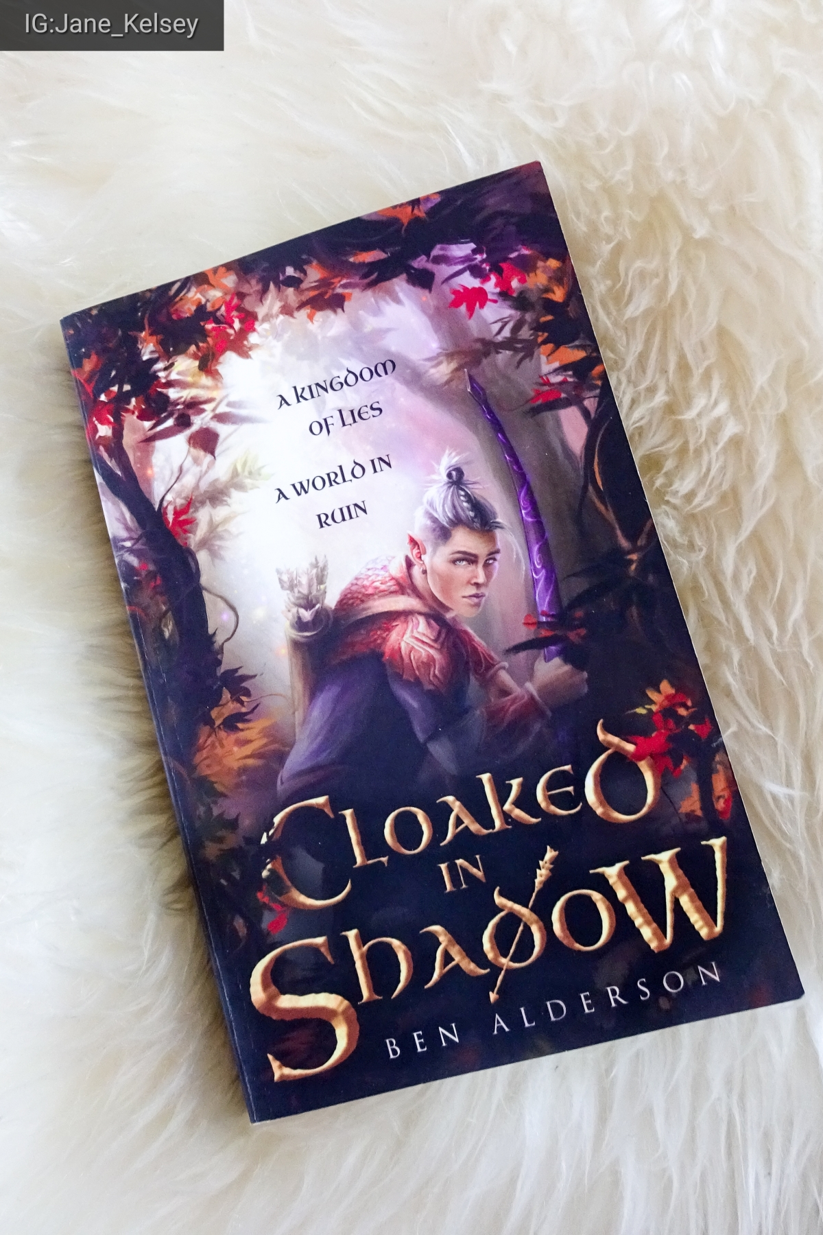 #BookReview: Cloaked in Shadow by Ben Alderson.