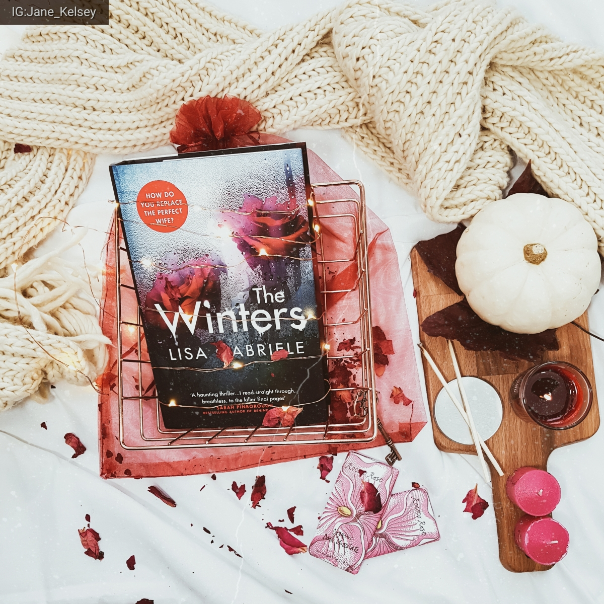 #bookmail: The Winters by Lisa Gabrielle – a Rebecca inspirednovel.