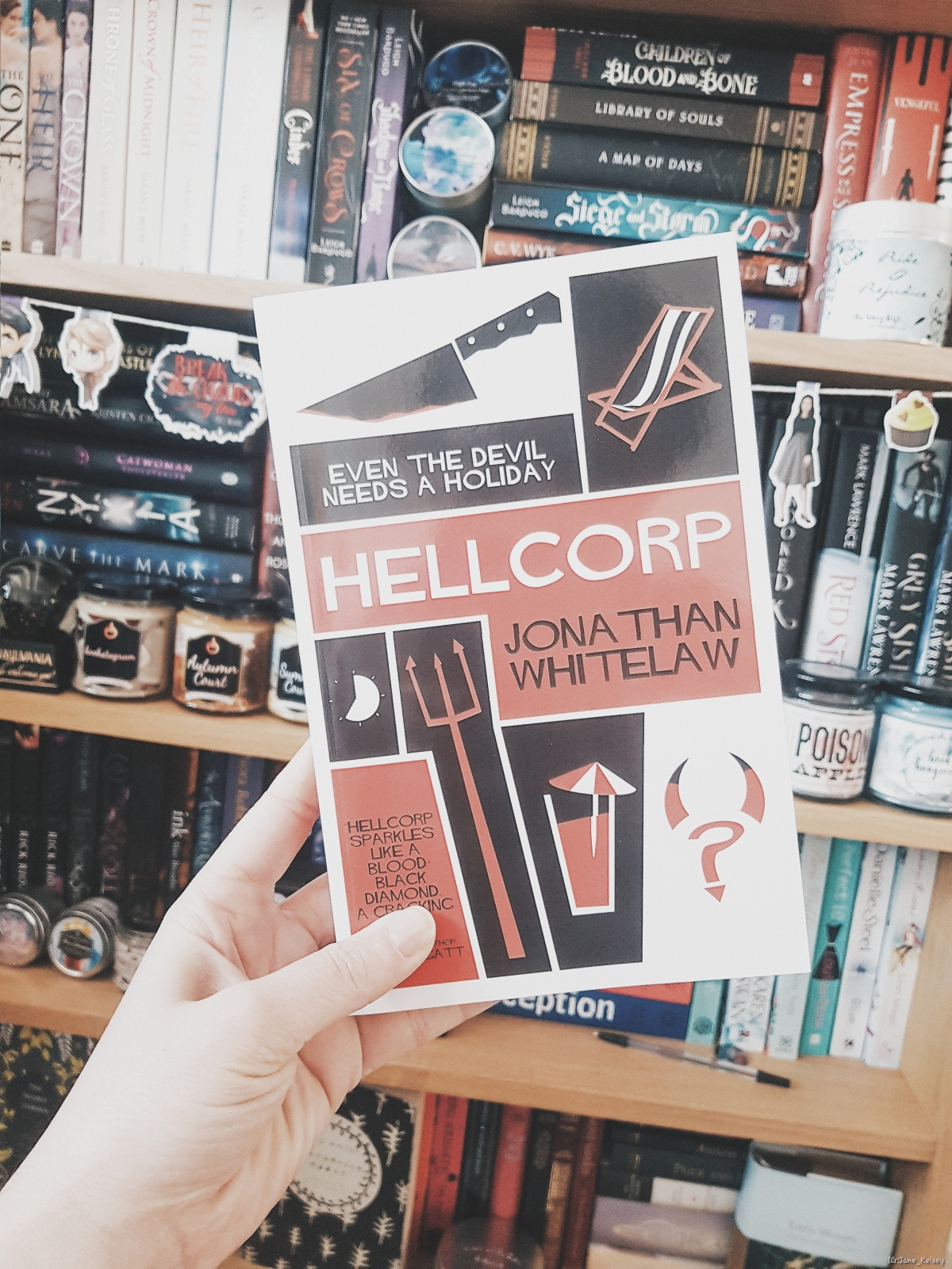 #BlogTour: Hellcorp by Jonathan Whitelaw | #LoveBooksGroupTours